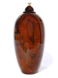 Cliff Lounsbury - Mango Wood Vase Sculpture