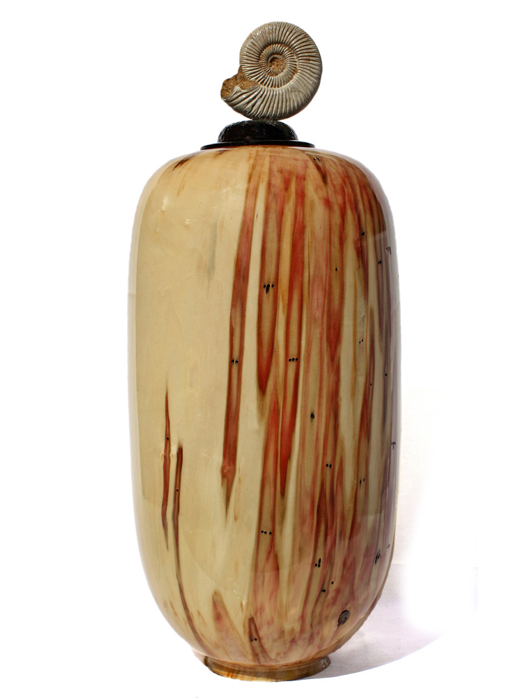Cliff Lounsbury - Box Elder Wood Vase Sculpture
