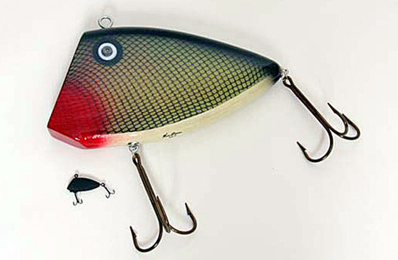 Ken Picou - Texas Perch Lure Sculpture