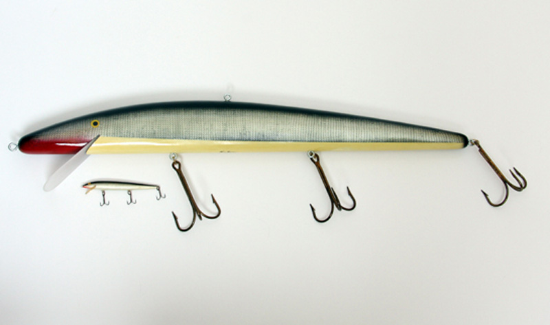 Ken Picou - Large Minnow Lure Sculpture