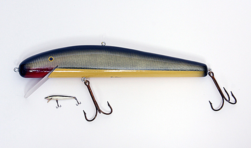 Ken Picou - Small Minnow Lure Sculpture