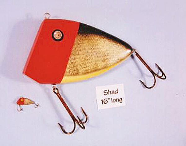 Ken Picou - Shad Lure Sculpture