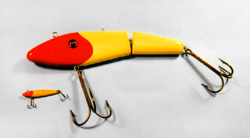 Ken Picou - Saltwater Jointed Minnow Lure Sculpture