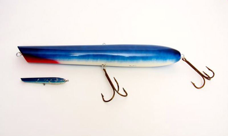Ken Picou - Nantucket Popper Lure Sculpture