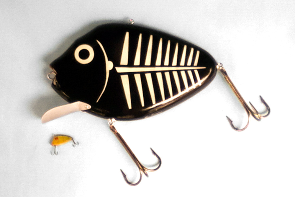 Ken Picou - P-Seed Spook Lure Sculpture