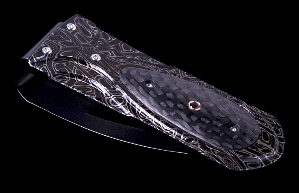 William Henry Zurich 'Raven' Money Clip
