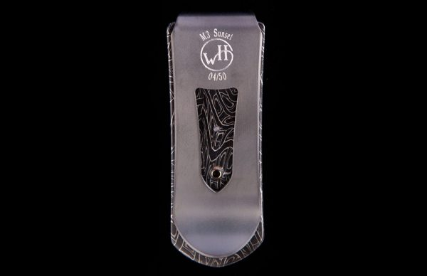 William Henry Zurich 'Sunrise' Money Clip