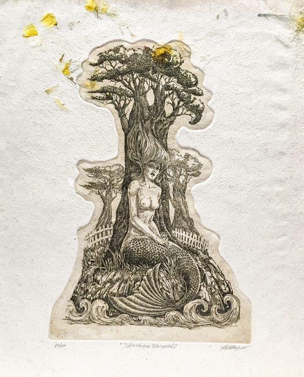J.D. Mayhew Limited Edition Print - Mendocino Mermaid