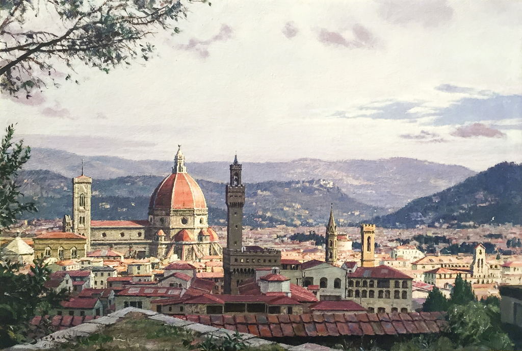 John Stobart - Florence: A View from Ft. Belvedere
