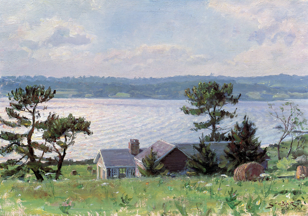 John Stobart - A View Over the Sakonnet River