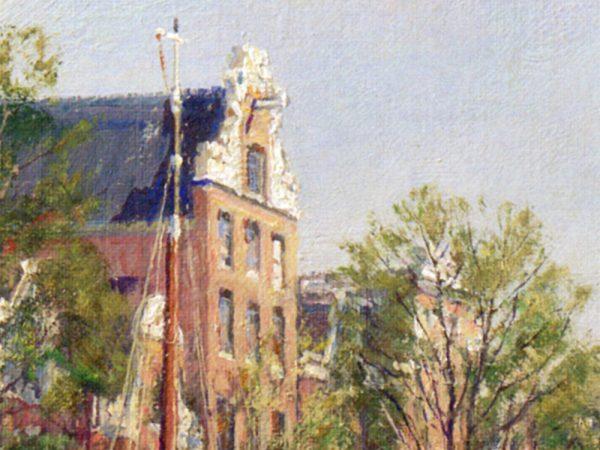 John Stobart - Amsterdam: The Herengracht
