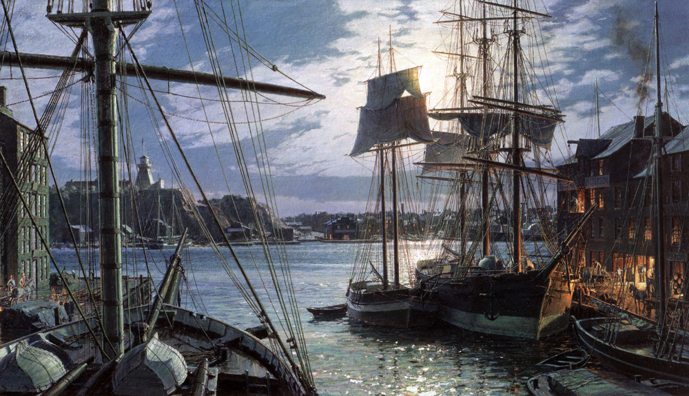 John Stobart - Baltimore: Federal Hill and the Marine Observatory