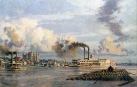 John Stobart - Baton Rouge: The Anchor Line Steam Packet