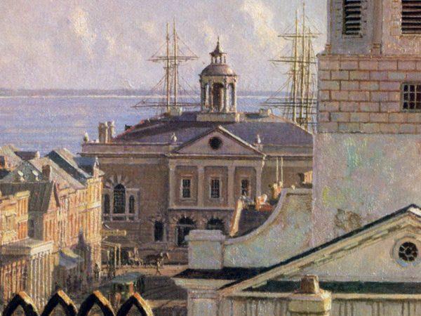 John Stobart - Charleston: Over the Rooftops in 1870