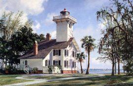 John Stobart - Haig Point Lighthouse, Daufuskie Island, S.C.