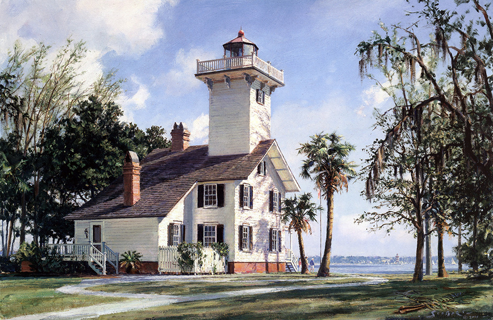 John Stobart - Haig Point Lighthouse, Daufuskie Island, S.C.
