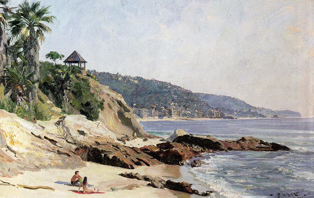 John Stobart - Laguna Beach: On-site Painting from PBS WorldScape Series