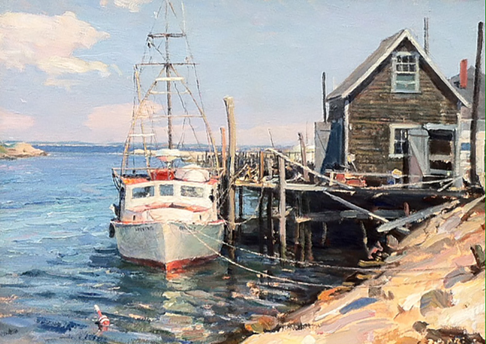 John Stobart - Martha's Vineyard: Menemsha Creek