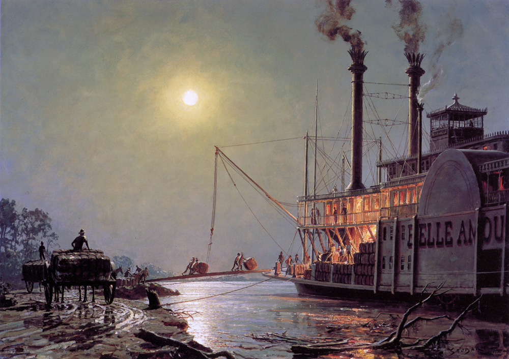 John Stobart - Night Call at Bayou Sara