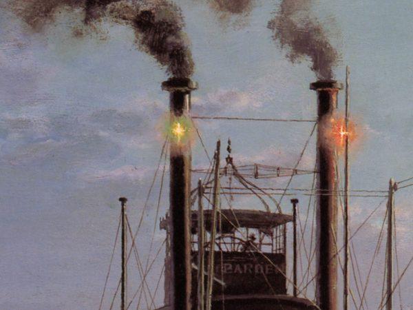 John Stobart - Night Stop On The Mississippi