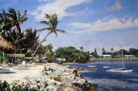 John Stobart - Ocean Reef, Key Largo