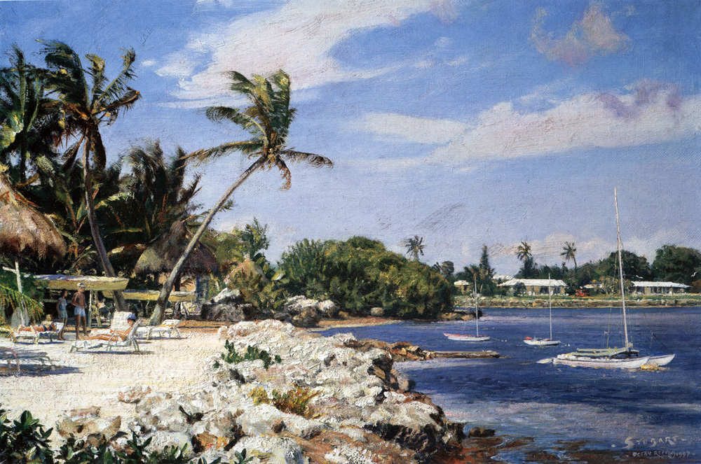 John Stobart - Ocean Reef, Key Largo