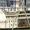 John Stobart - Pittsburgh: The Monongahela Wharf Seen from Smithfield Street Bridge, 1883