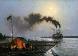 John Stobart - Rafting On The Missouri