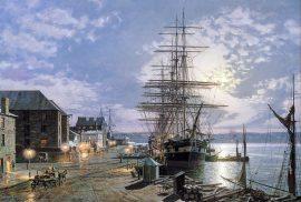 "John Stobart - Sydney: The Blackwall Passenger Ship ""Parramatta"""