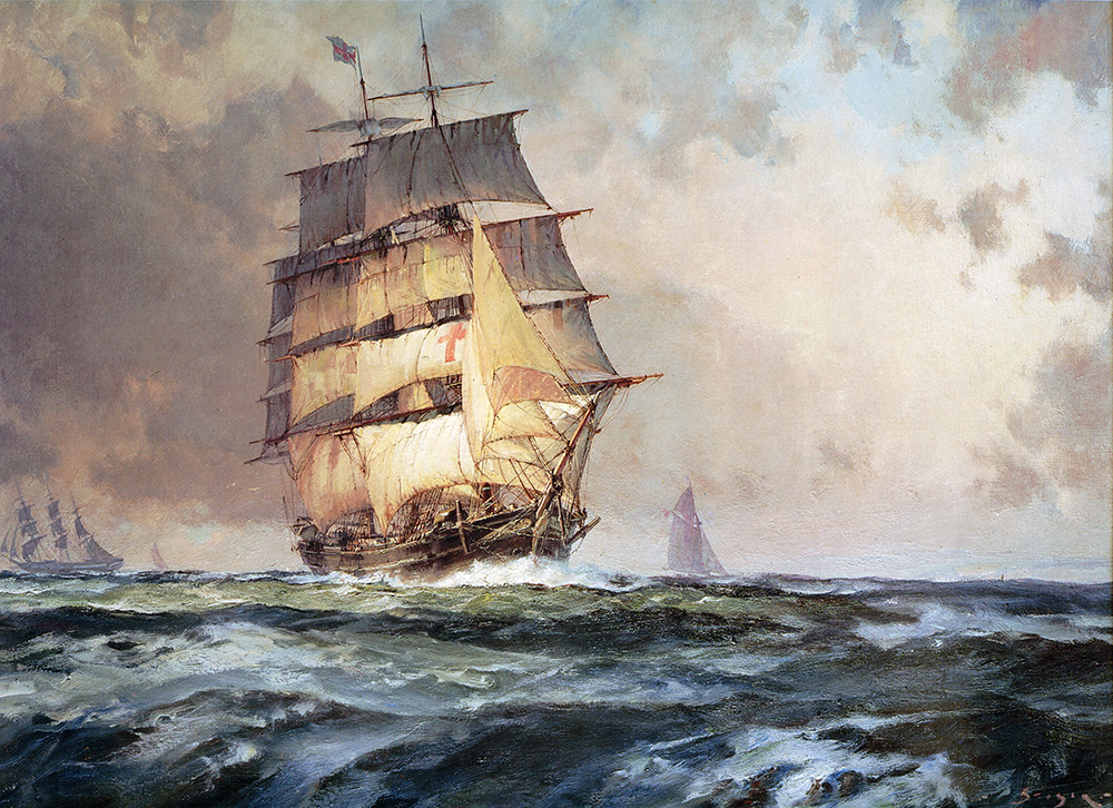 "John Stobart - The ""Dreadnaught"""