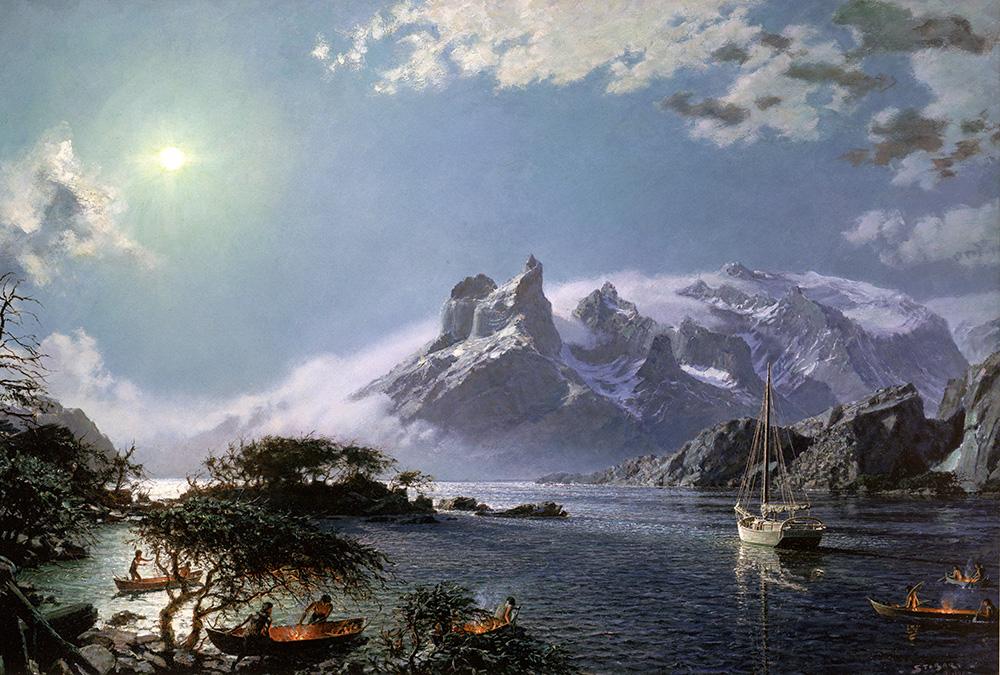 John Stobart - Tierra Del Fuego: A Centennial Tribute To Capt. Joshua Slocum