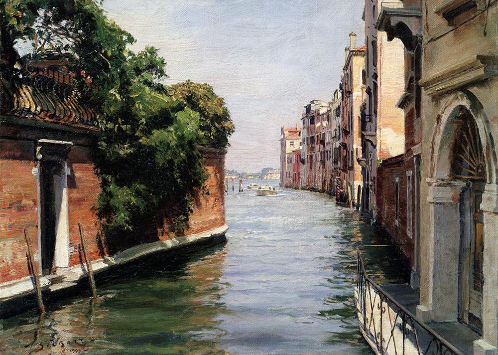 John Stobart - Venice: Rio Di Caterina