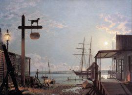 John Stobart - Vineyard Haven: View from the Black Dog Tavern