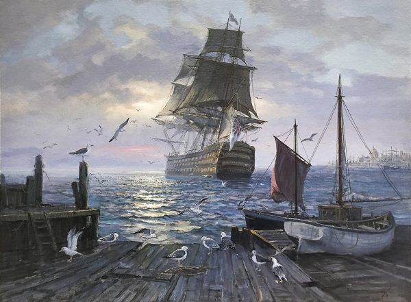 Charles Vickery - Sailing Into History