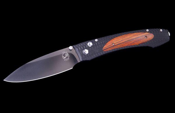 William Henry E10-1 Cocobola Wood Knife