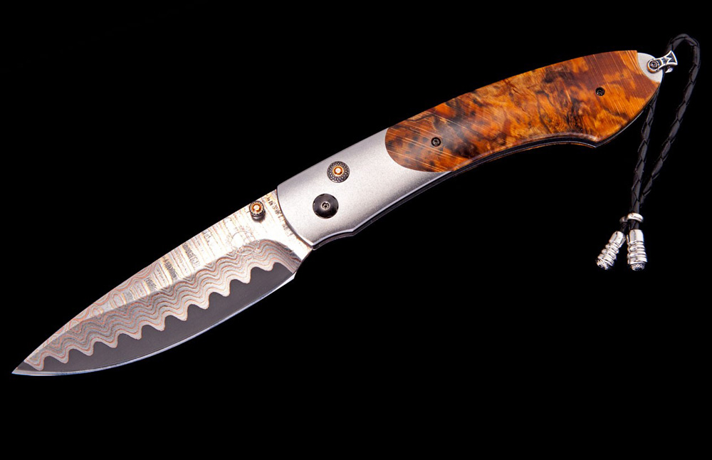William Henry Limited Edition B12 Beech Wood Knife