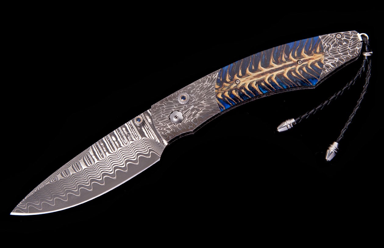 William Henry Limited Edition B12 Blue River Knife