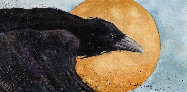 Beki Killorin Original Watercolor - Halo