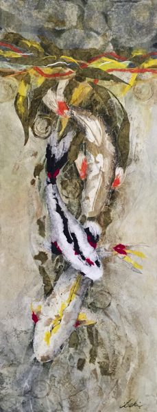 Beki Killorin - Dive Team Original Watercolor