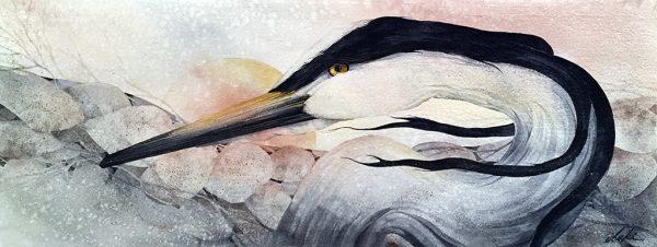 Beki Killorin Original Watercolor Gentle Breeze