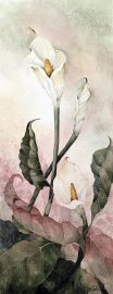 Beki Killorin Original Watercolor Lily