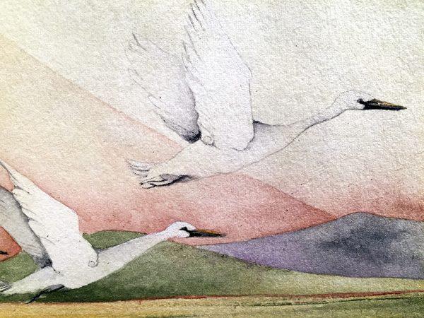 Beki Killorin Original Watercolor Sojourners