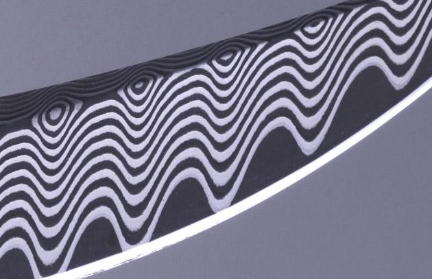 William Henry Materials - Wave Damascus