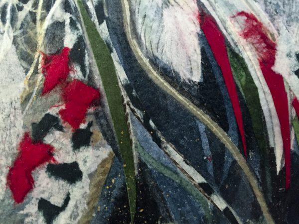 Beki Killorin - Rising Moon Original Watercolor