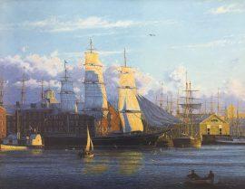 Raymond Massey - Romance of the Sea Departing Boston