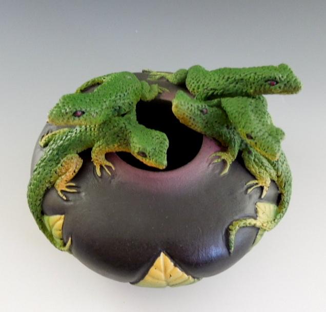 Nancy Adams - Five Lizard Bowl