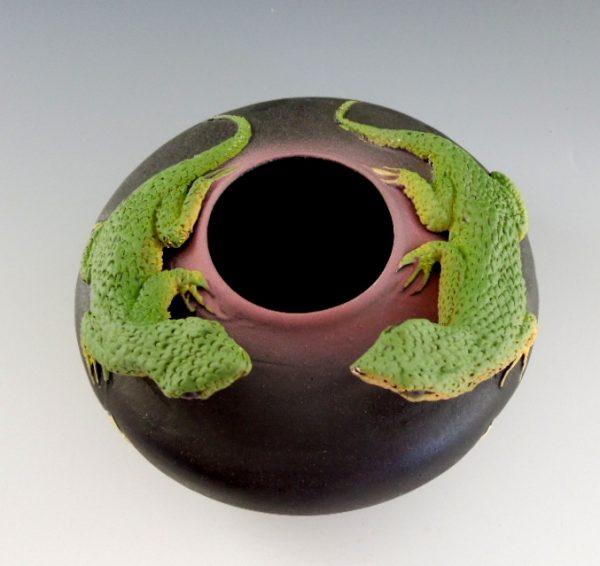 Nancy Adams - Two Lounging Lizards