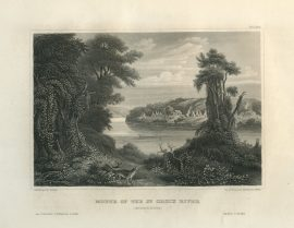 Historic Engraving - Mouth of the St. Croix River