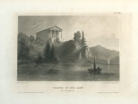 Antique Engraving - Chapel of Our Lady (1856)