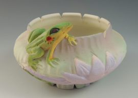 Nancy Adams - Jade Lily Bowl